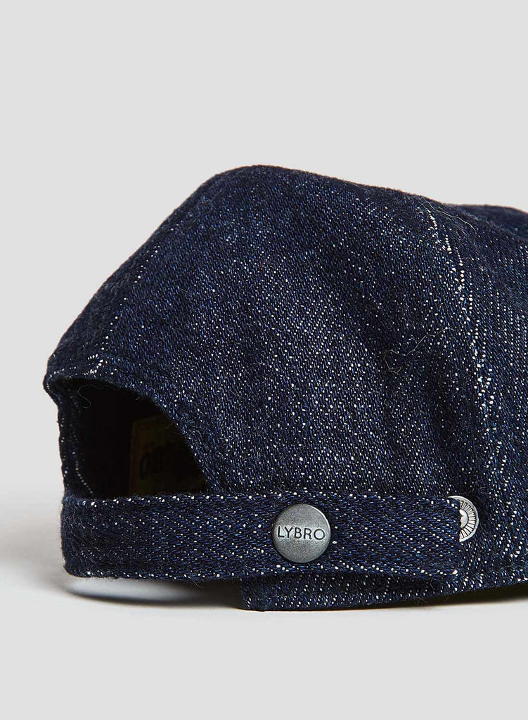 Mechanics Cap in Indigo