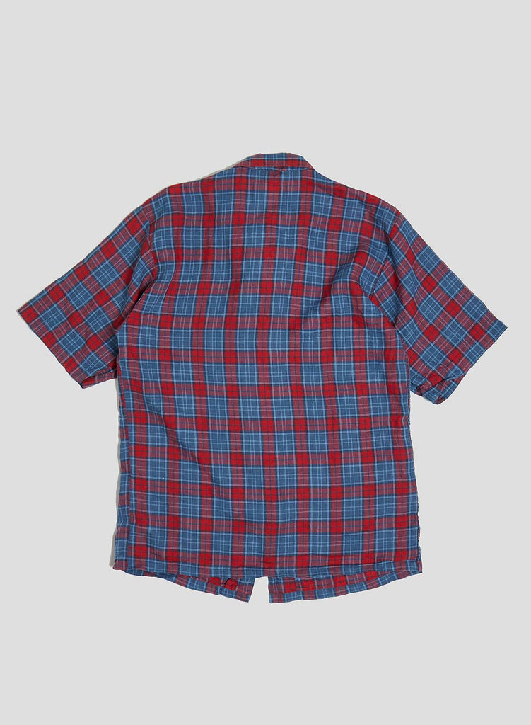 Frankies Shirt Blue/Red Check
