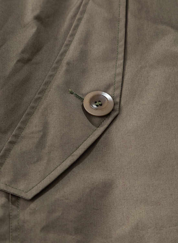 Liam Gallagher x Nigel Cabourn Nato Green Long Smock 4