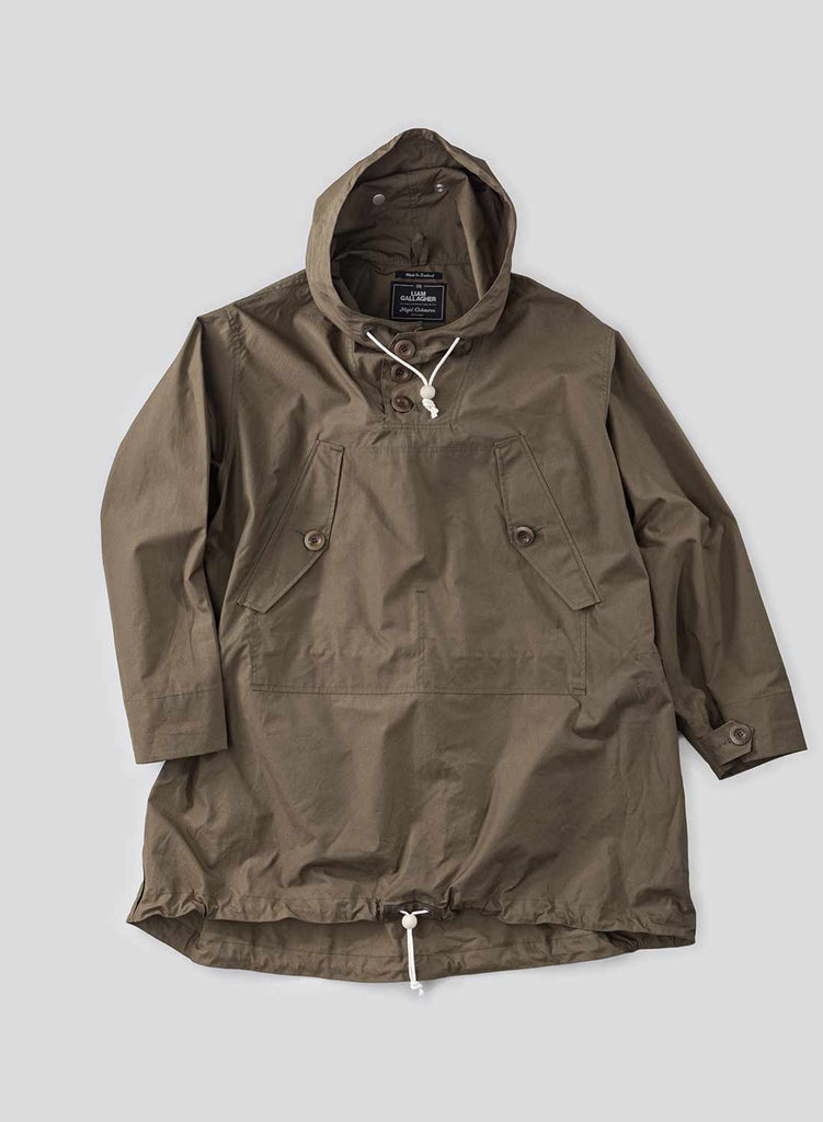 Liam Gallagher x Nigel Cabourn Nato Green Long Smock