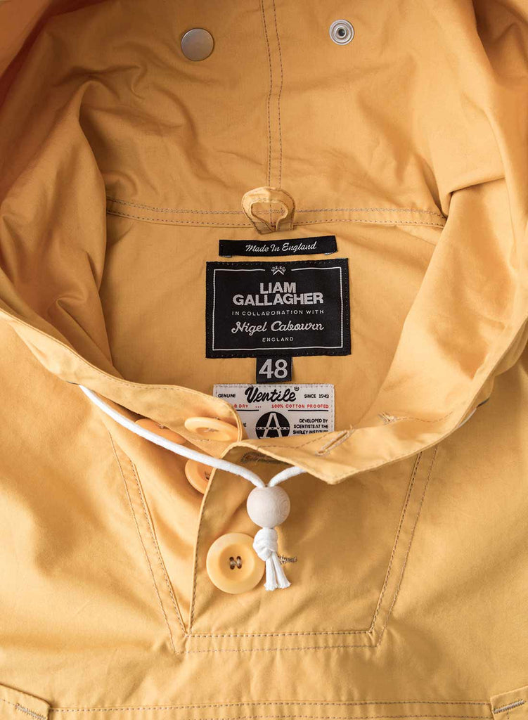 Liam Gallagher x Nigel Cabourn Survival Yellow Long Smock 2