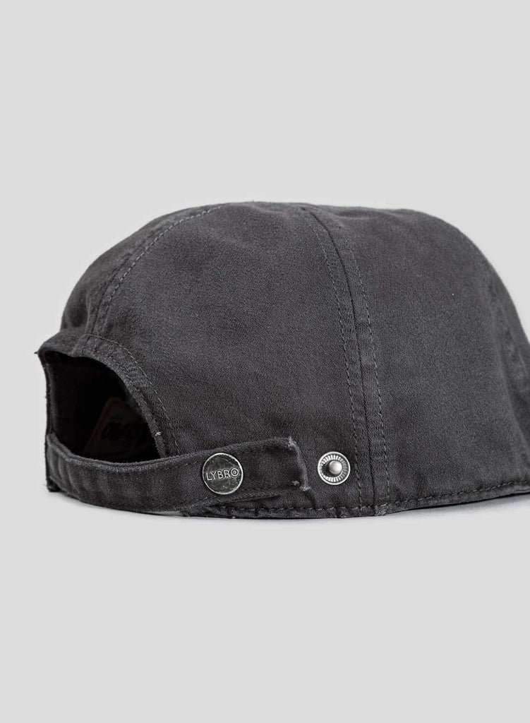 Globe Logo Mechanics Cap in RAF Grey