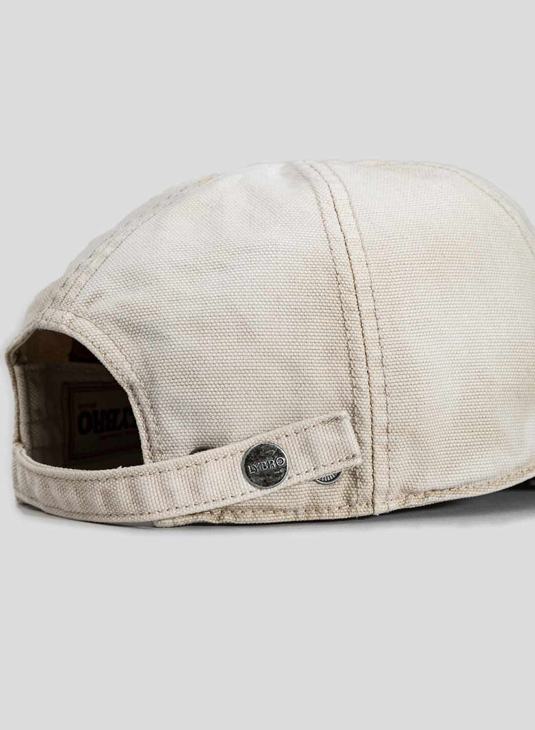 Globe Logo Mechanics Cap in Stone