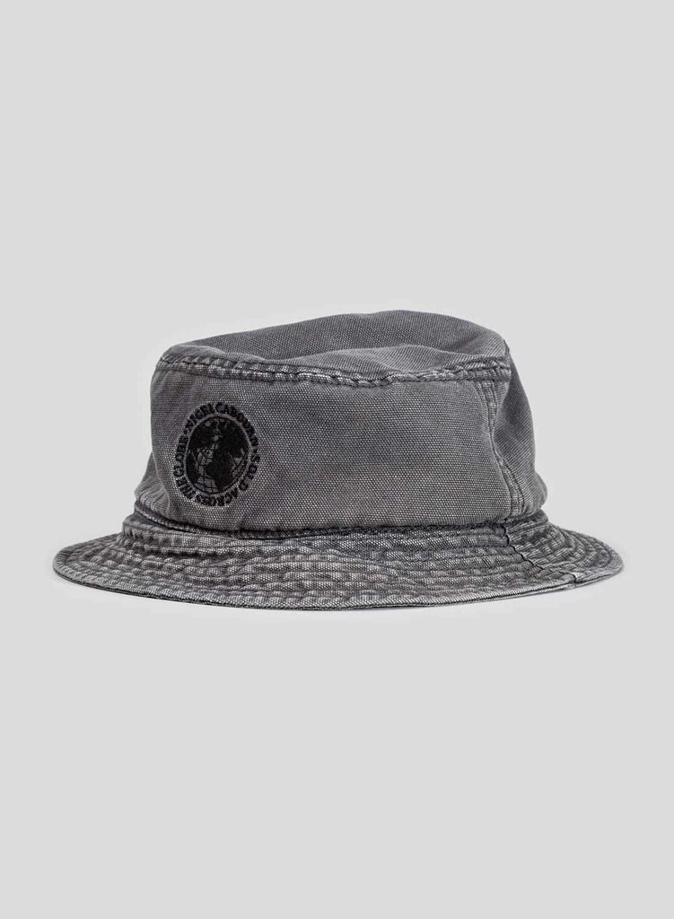 Globe Logo Bucket Hat in RAF Grey