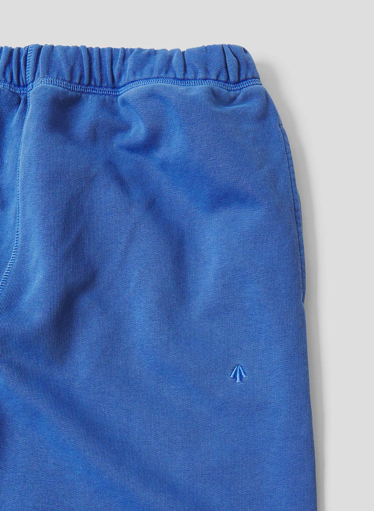 Embroidered Arrow Jogging Pants in Washed Blue