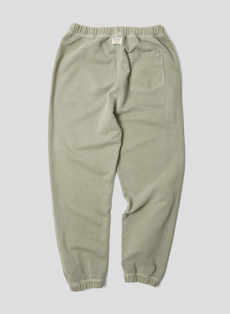 Embroidered Arrow Jogging Pants in Washed Army
