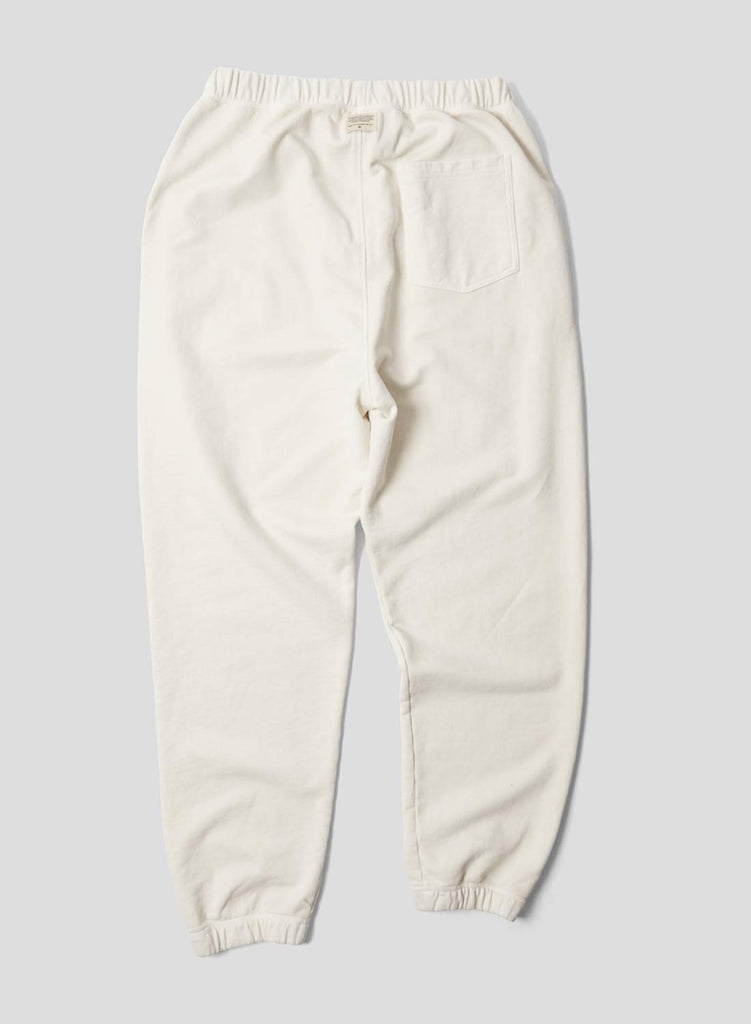 Embroidered Arrow Jogging Pants in Natural