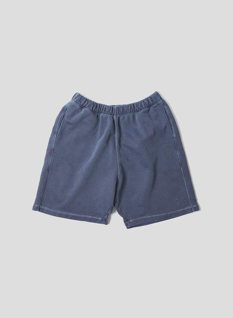 Embroidered Arrow Jogging Short in Black Navy