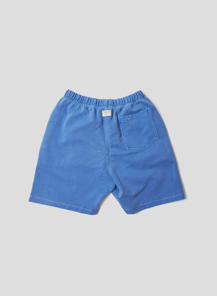 Embroidered Arrow Jogging Short in Washed Blue
