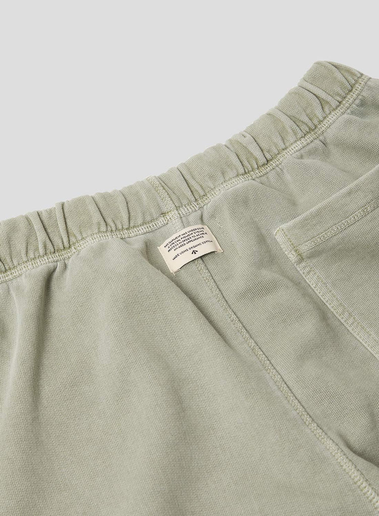 Embroidered Arrow Jogging Short in Washed Army