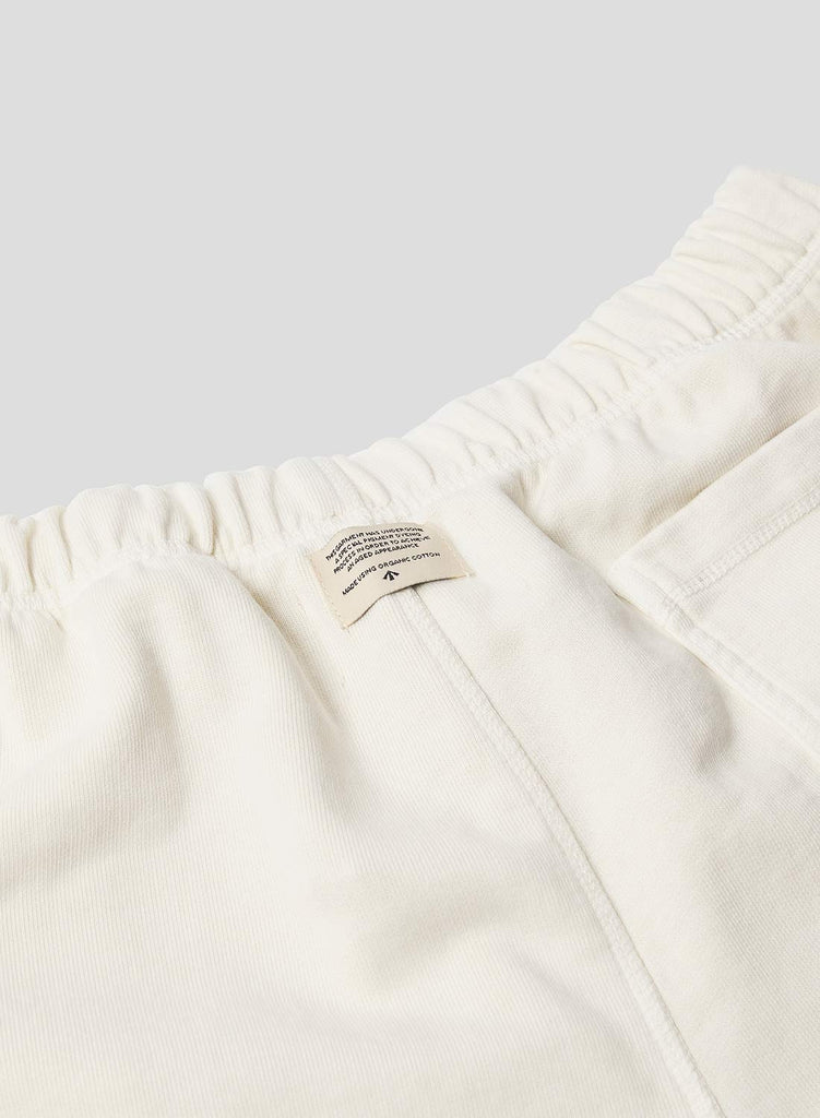 Embroidered Arrow Jogging Short in Natural
