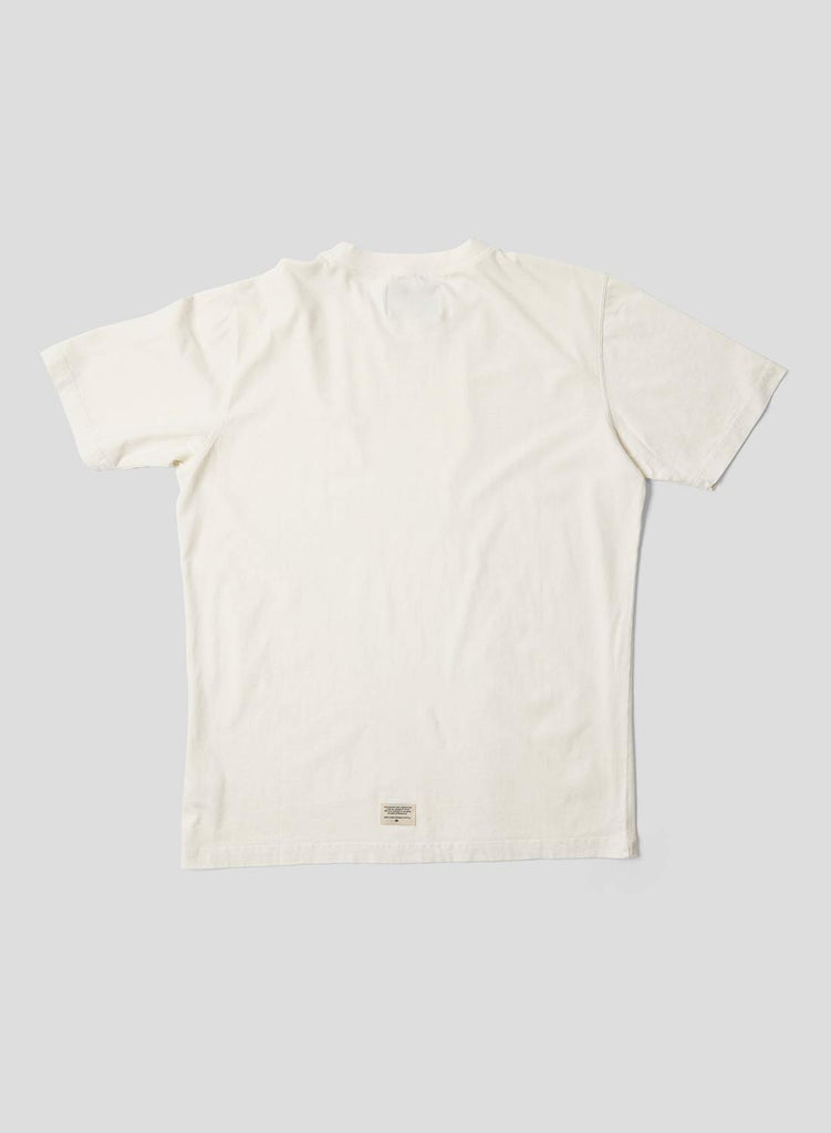 Embroidered Arrow Short Sleeve Tee in Natural