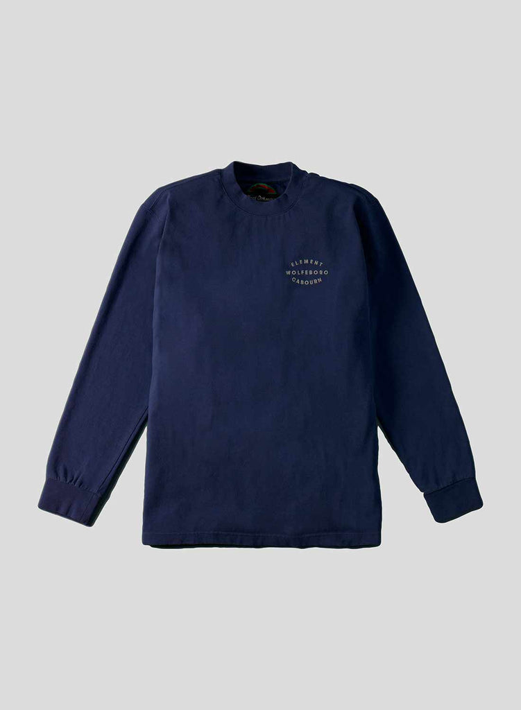 Classic Long Sleeve Tee in Eclipse Navy