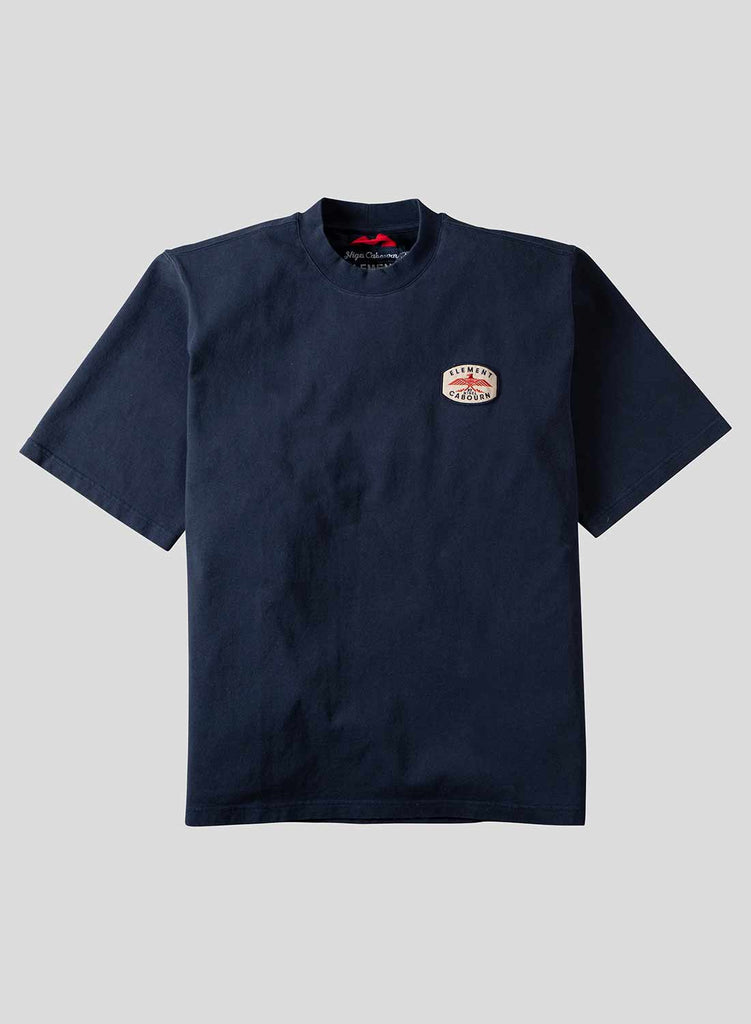 Totem Short Sleeve Tee in Eclipse Navy