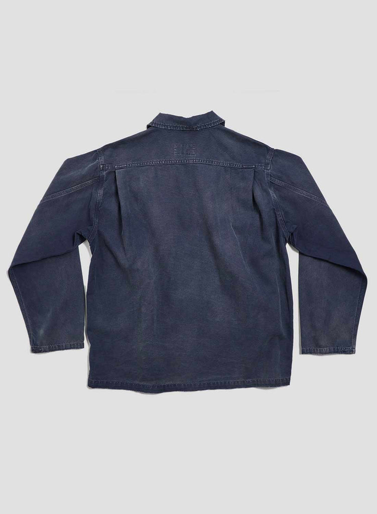 USMC Shirt Jacket in Black Navy
