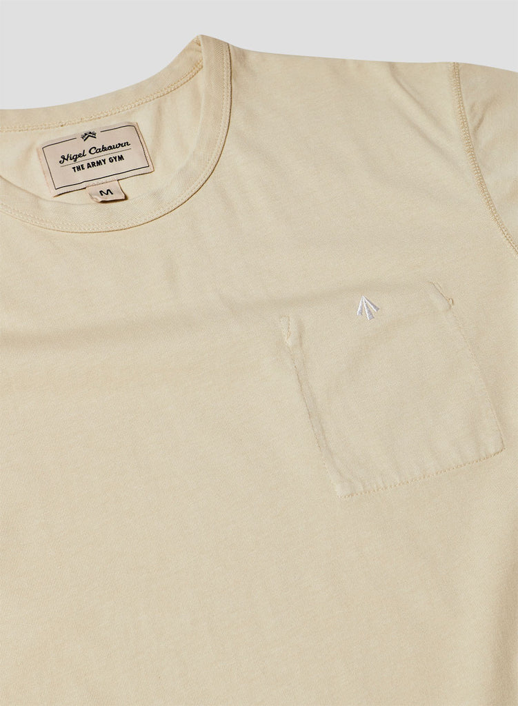 Warm Up Military Tee in Natural