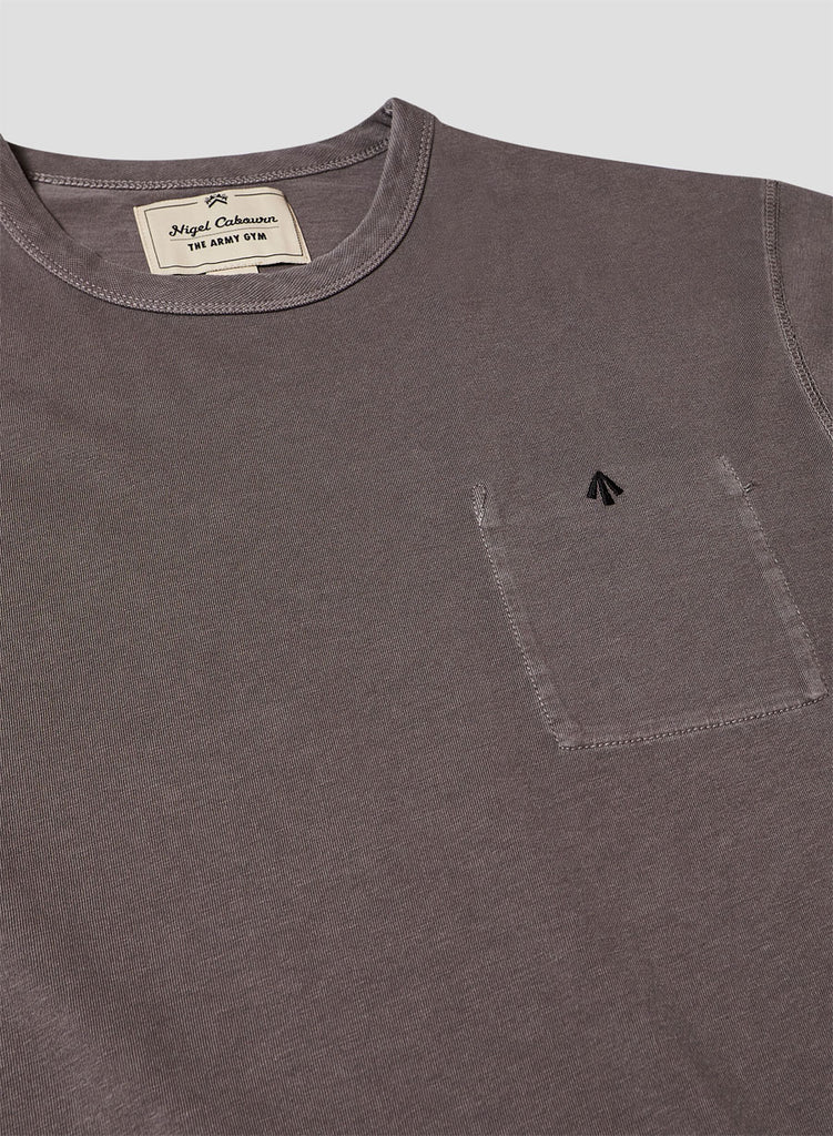 Warm Up Military Tee in RAF Grey