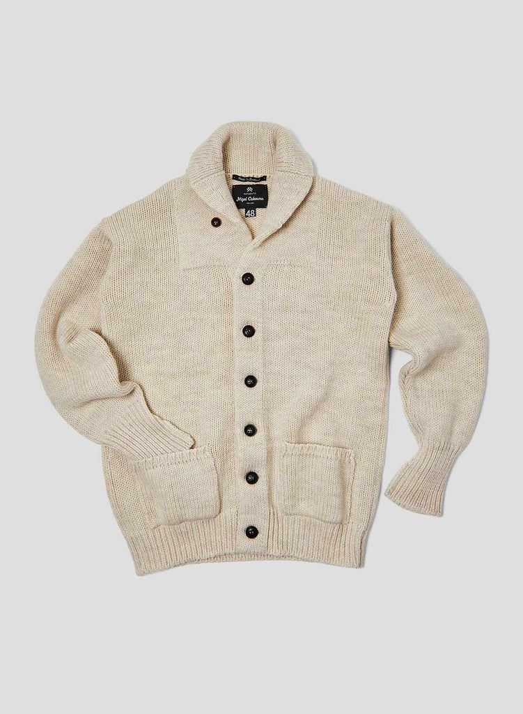 Big Shawl Cardigan in Natural