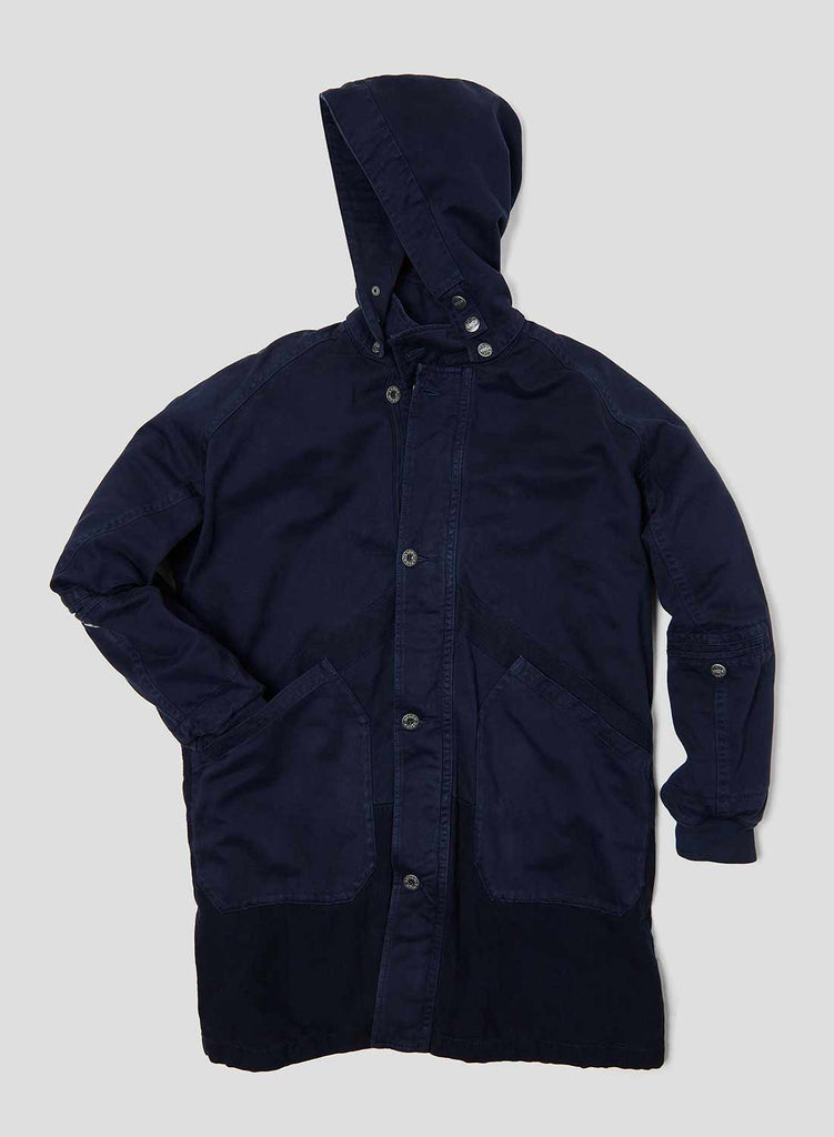 Hooded Arctic Coat in Royal Navy