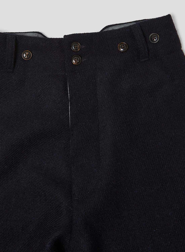 Farm Pant in Black Navy