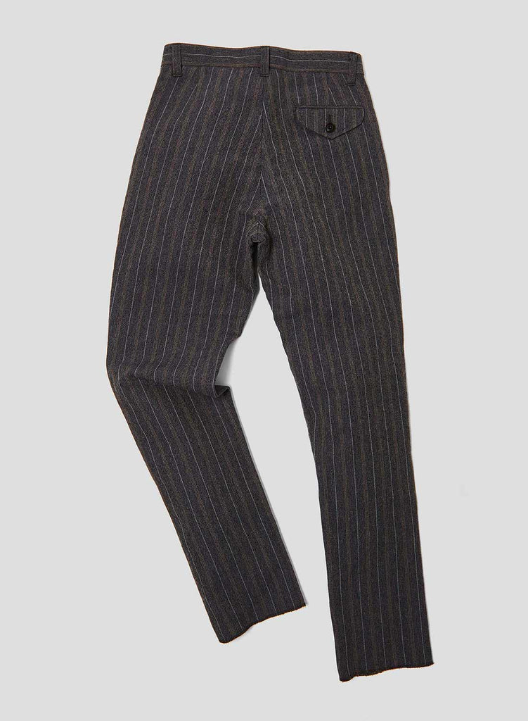 Formal Pant in Navy Stripe