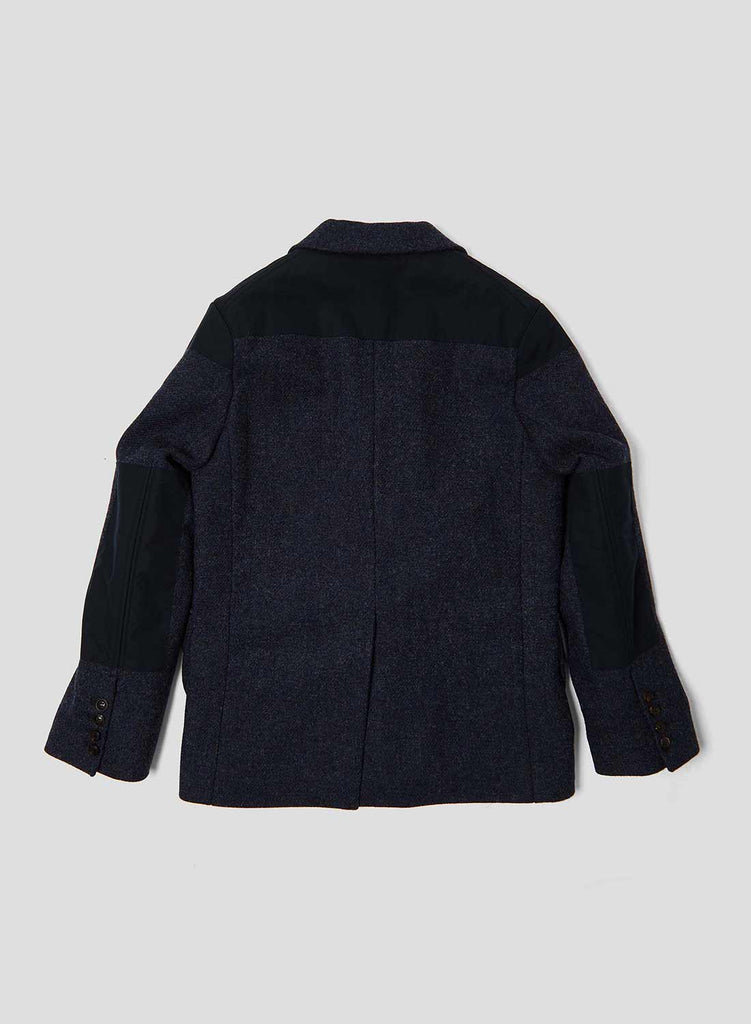 Mallory Jacket in Brown Navy