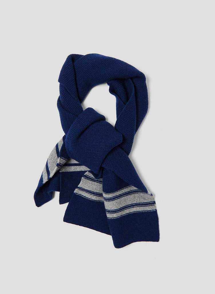 Lambswool Scarf in Bright Blue