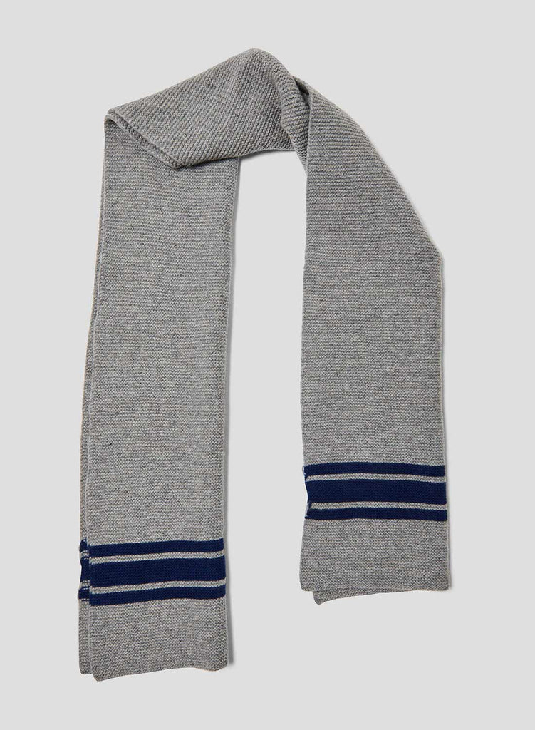 Lambswool Scarf in Light Grey