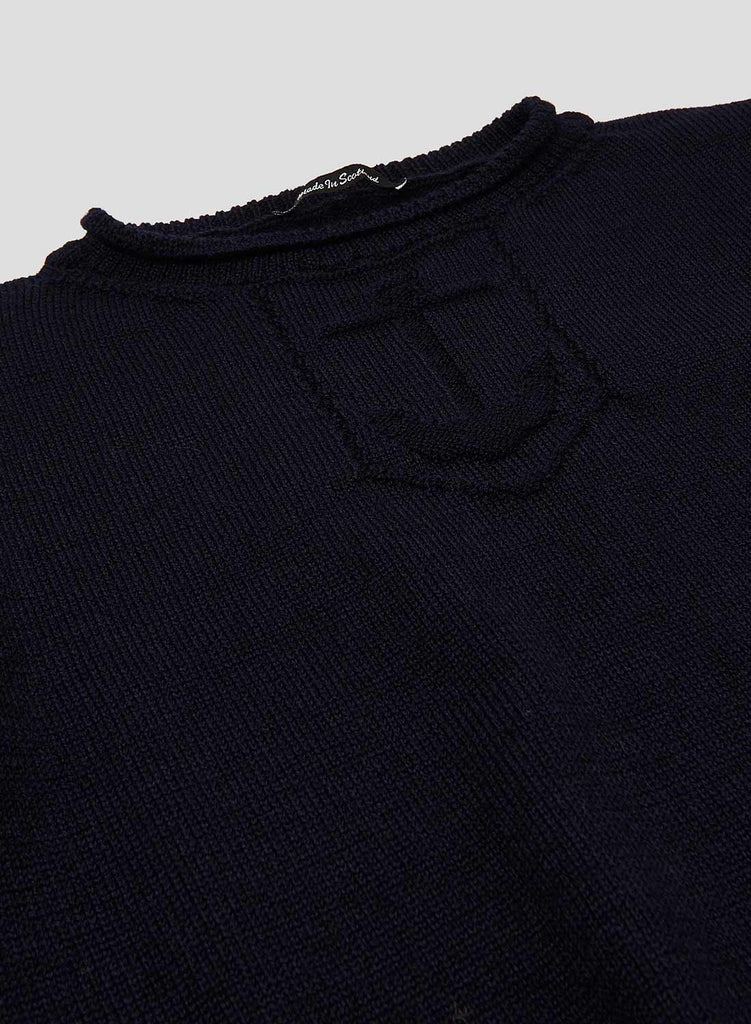 Submarine Knitted Jumper in RAF Navy