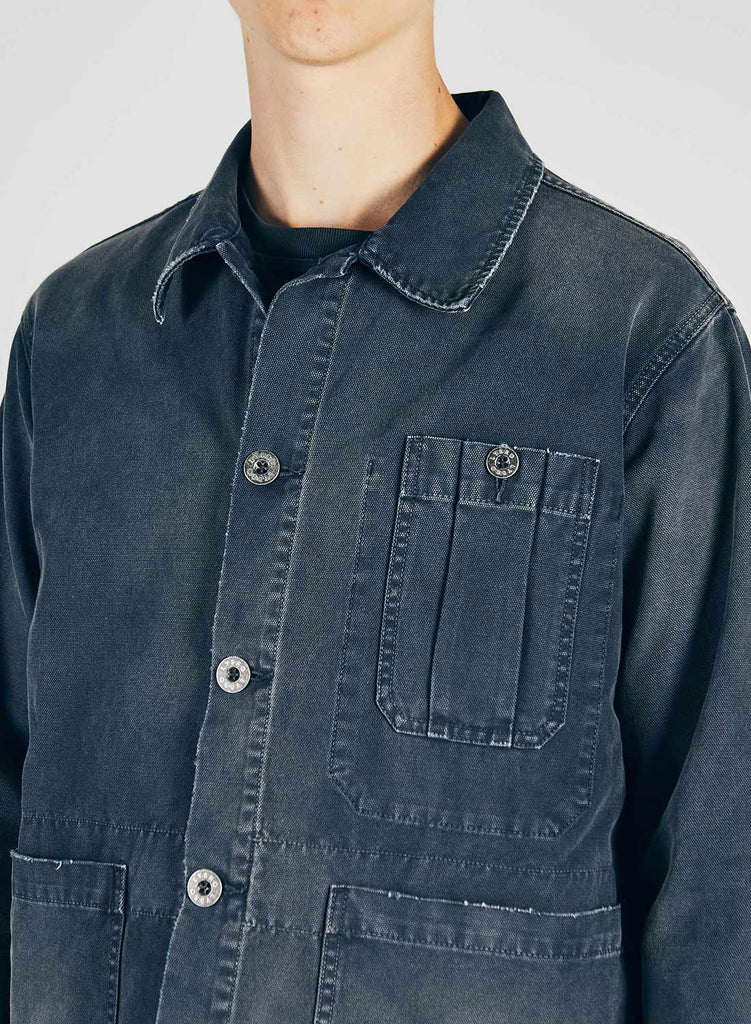 British Army Jacket in Black Navy