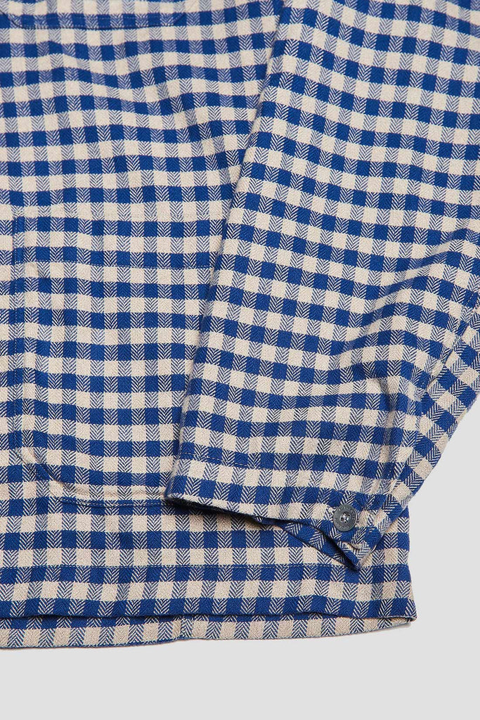 POH Deck Shirt in Blue Check