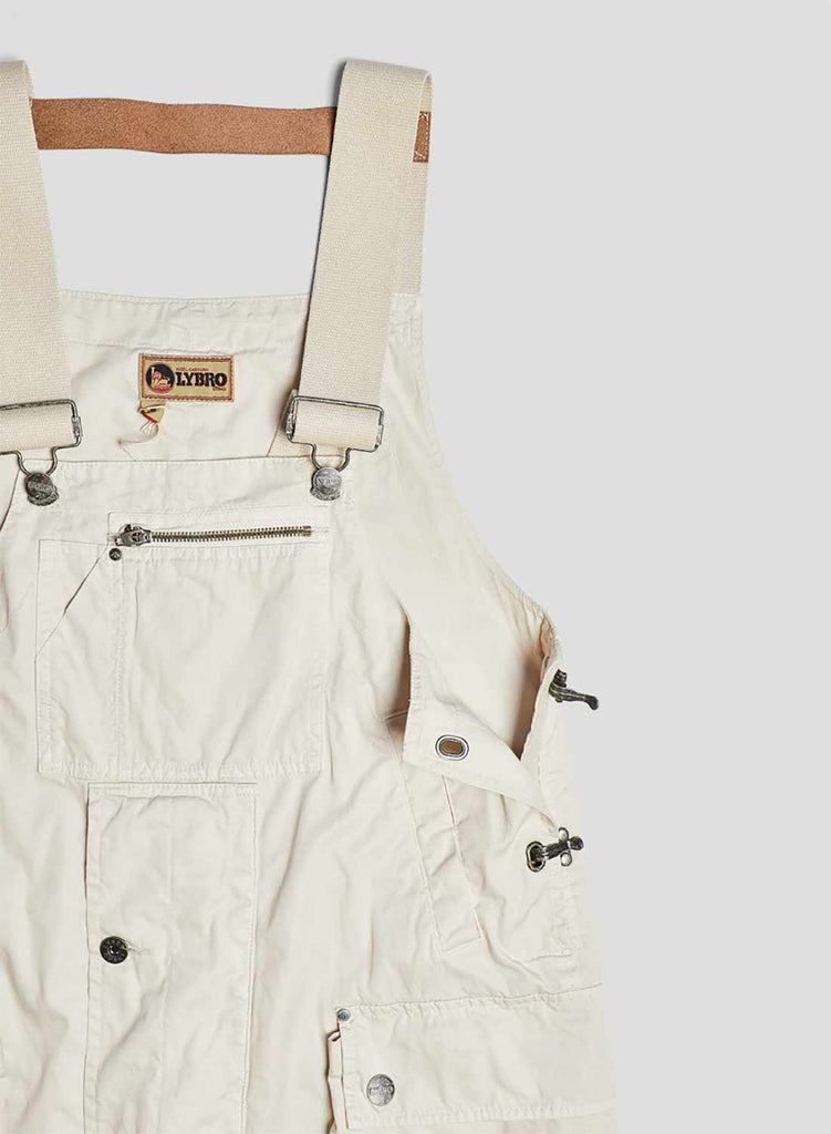 British Convoy Dungaree in Winter White