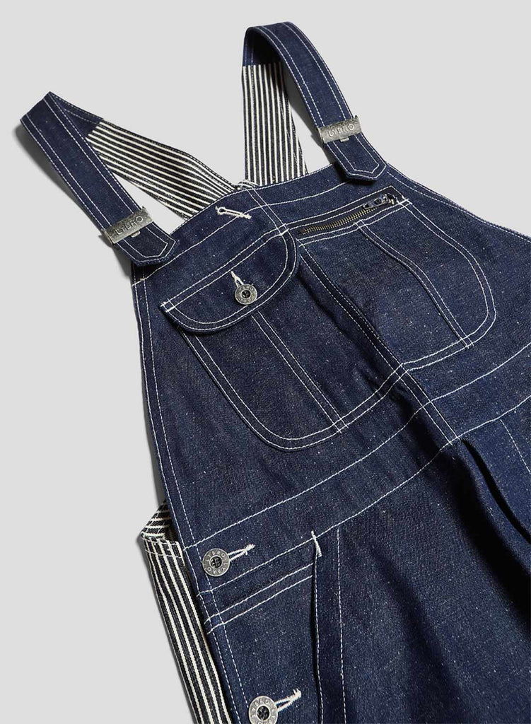 New Dungaree Mix in Indigo Stripe