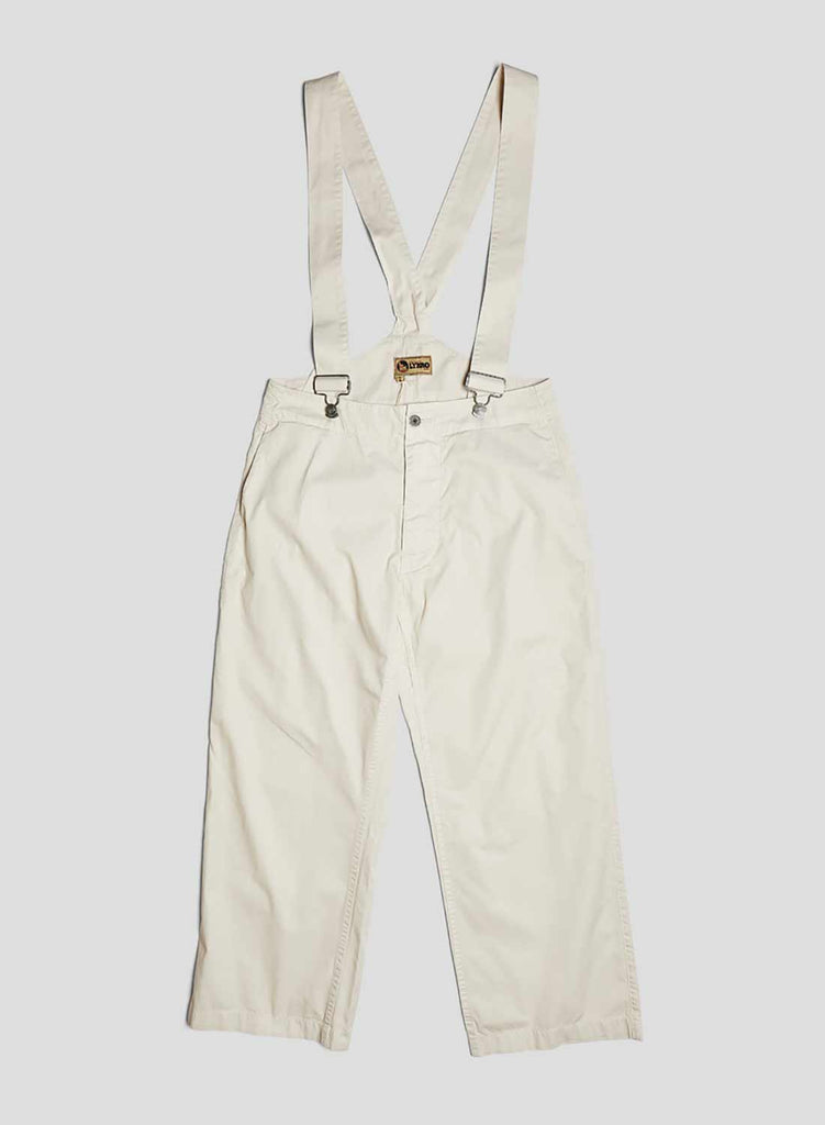 Work Pant Braces in Winter White