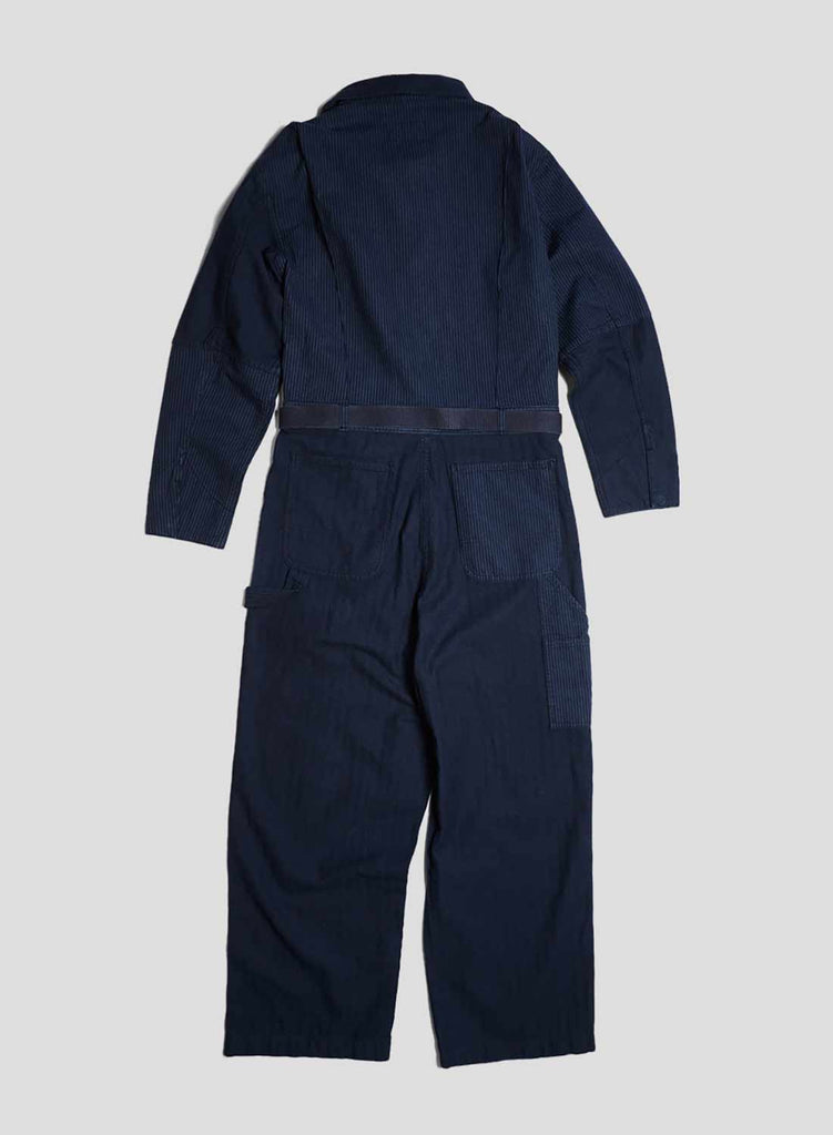 Big Coverall Navy Overdye
