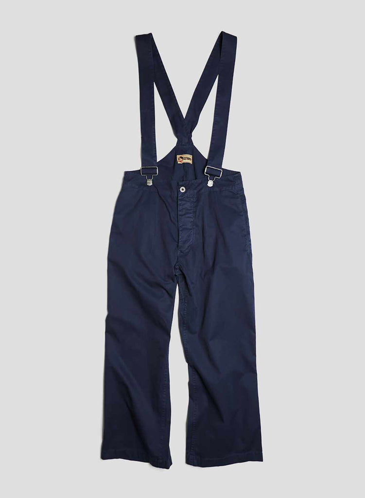 Work Pant in Black Navy