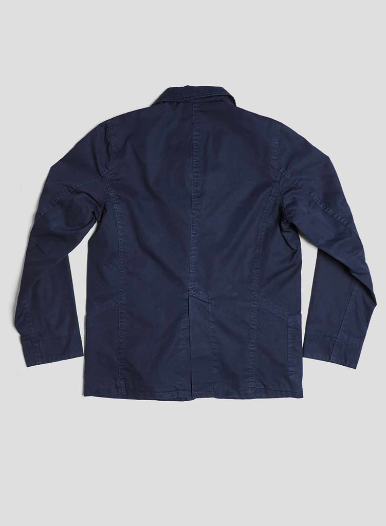 Work Blazer in Black Navy