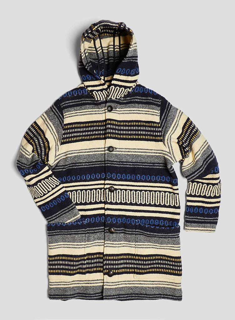 Unisex Blanket Jacket in Multi Stripe
