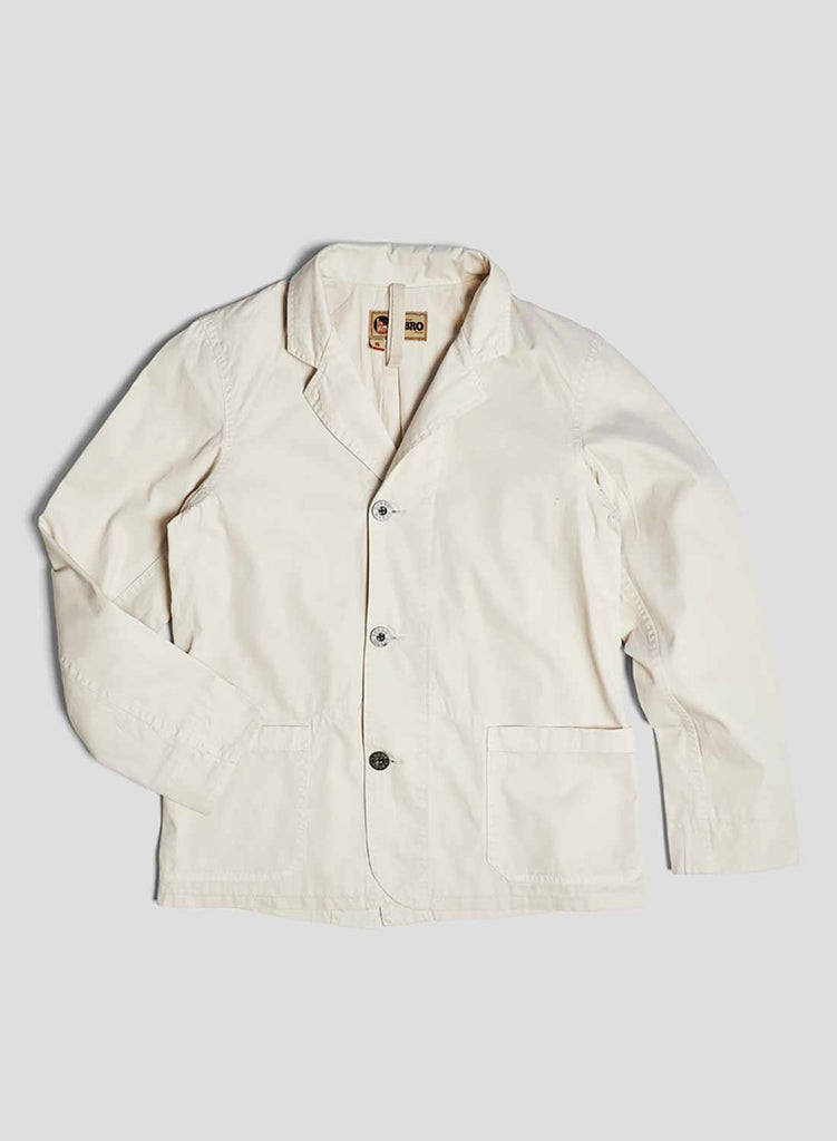 Work Blazer in Winter White