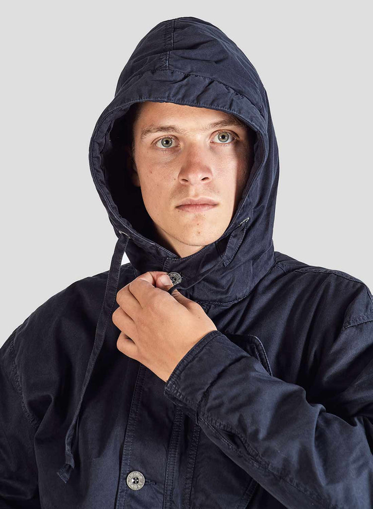 Cold Weather Jacket in Black Navy