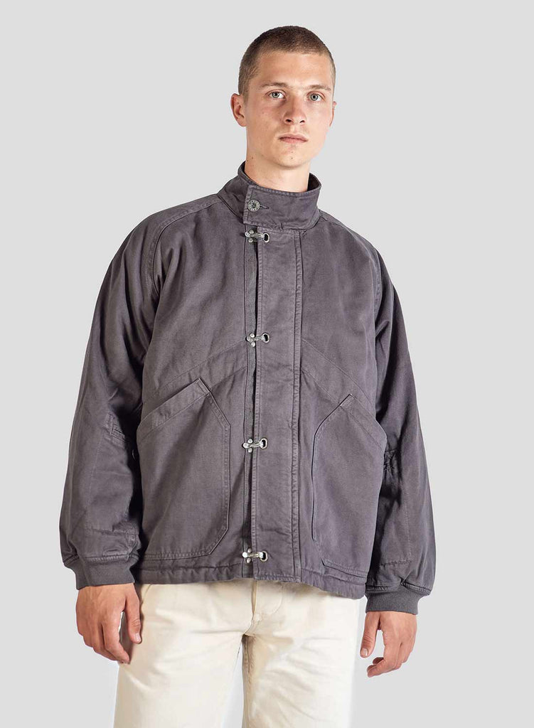 Short Arctic Clip Jacket in RAF Grey