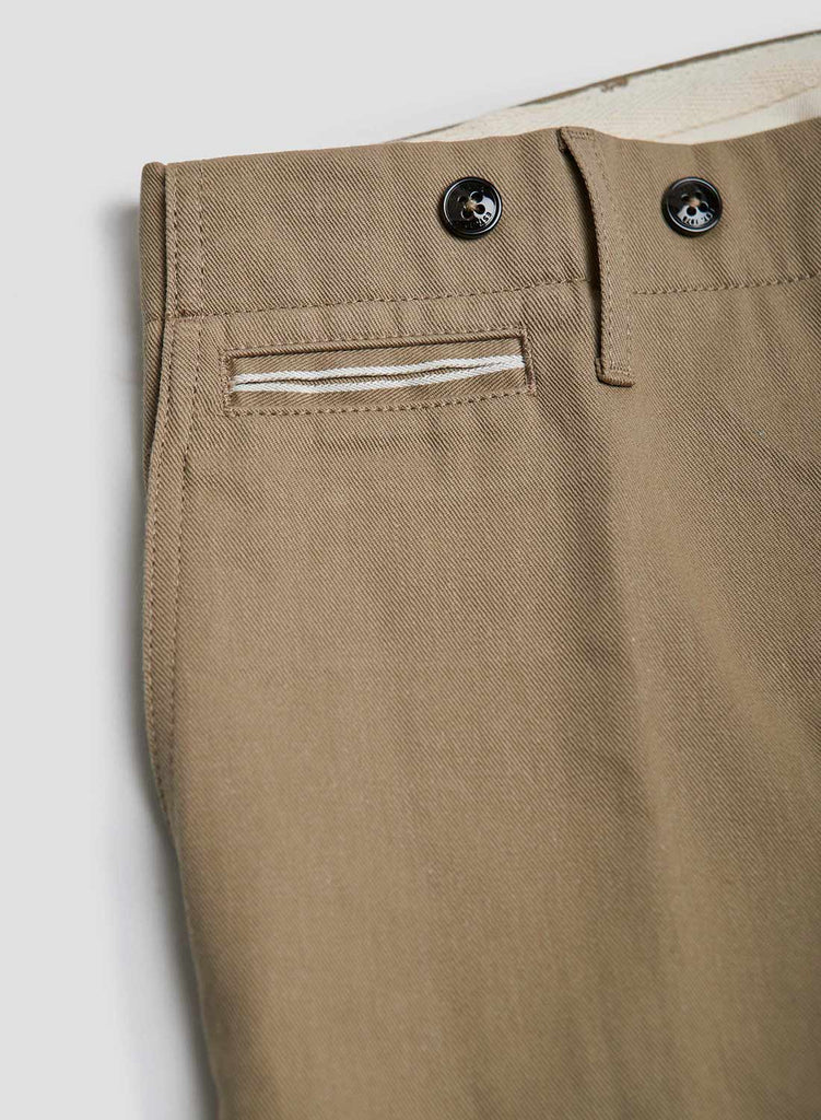 NC X Closed Men's Straight Leg Chinos in Desert Storm