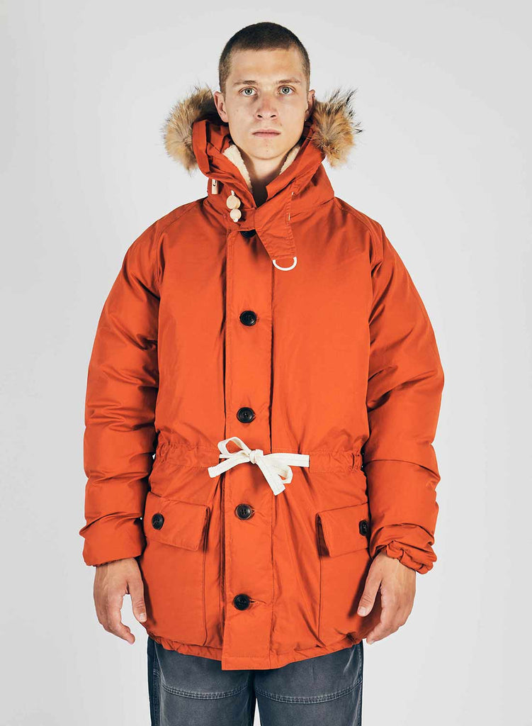 Everest Parka Vintage Orange