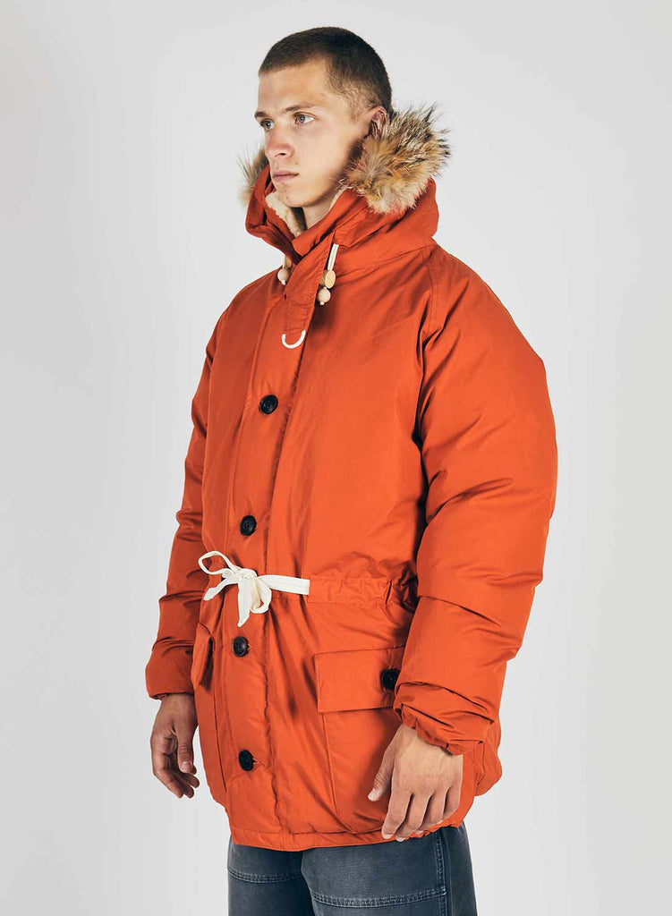 Everest Parka Vintage Orange 2