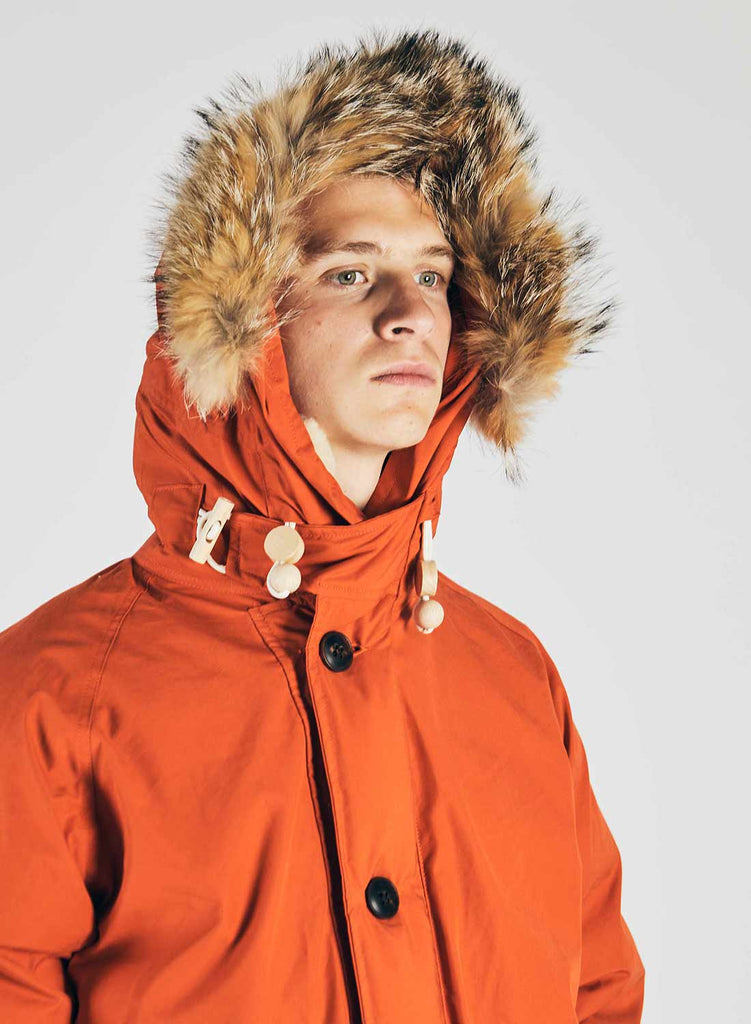 Everest Parka Vintage Orange 4