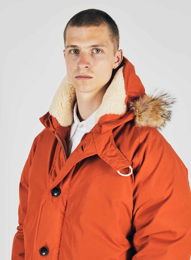 Everest Parka Vintage Orange 7