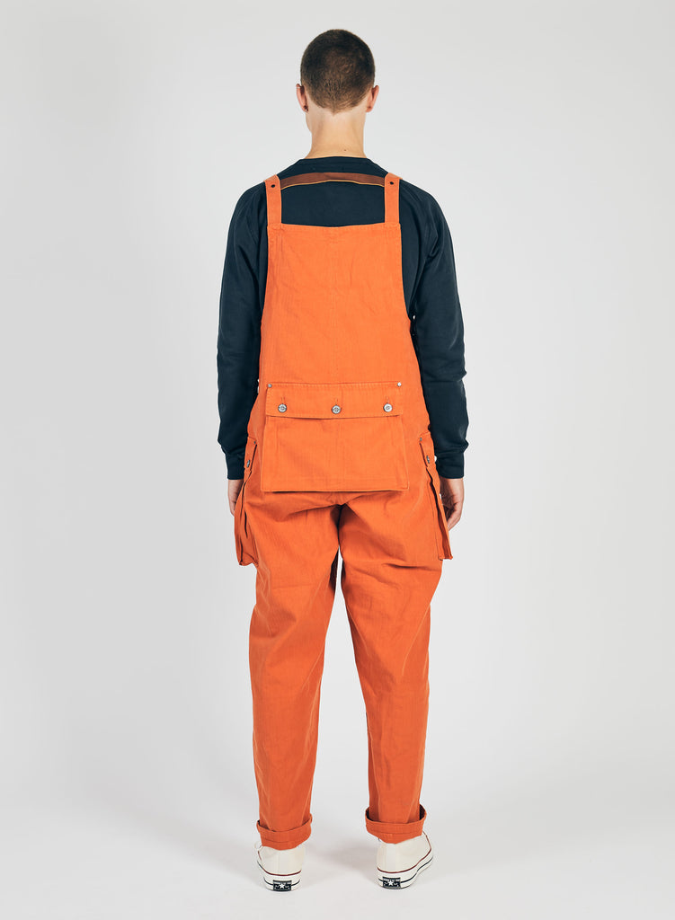 Vintage Orange Naval Dungaree 2