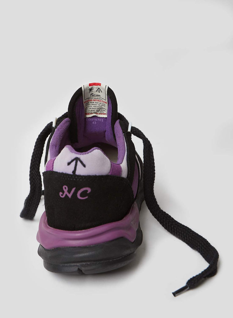 Mihara Running Trainer in Purple and Black