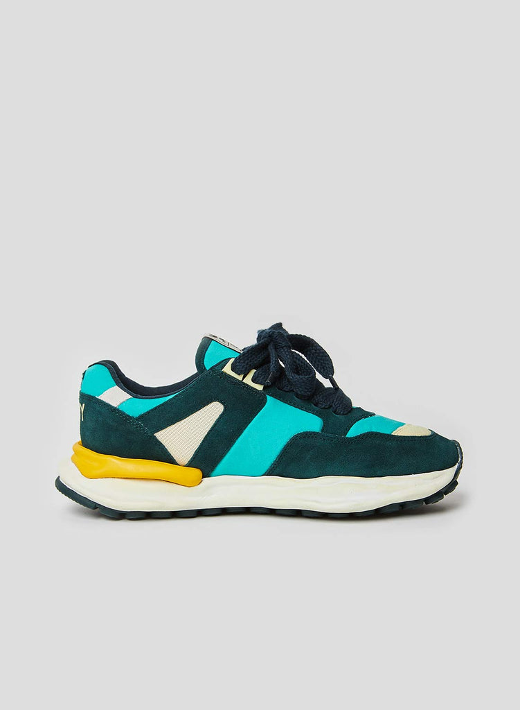 Mihara Running Trainer in Green and Army