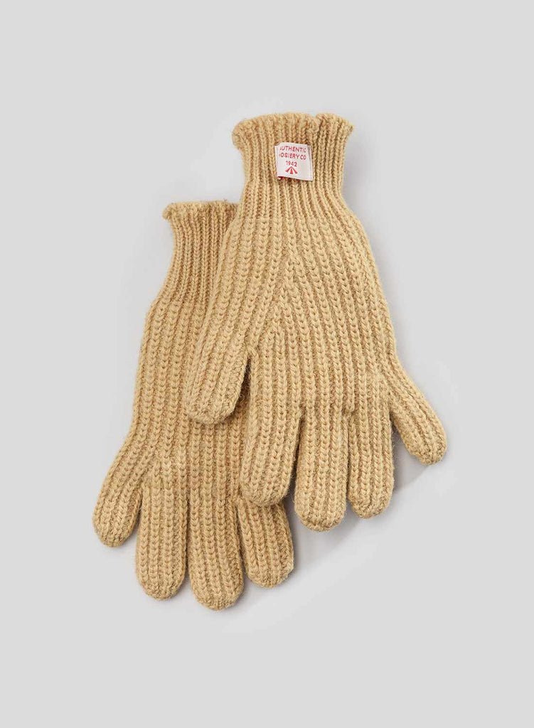 Ribbed Sunflower Yellow Goalie Gloves